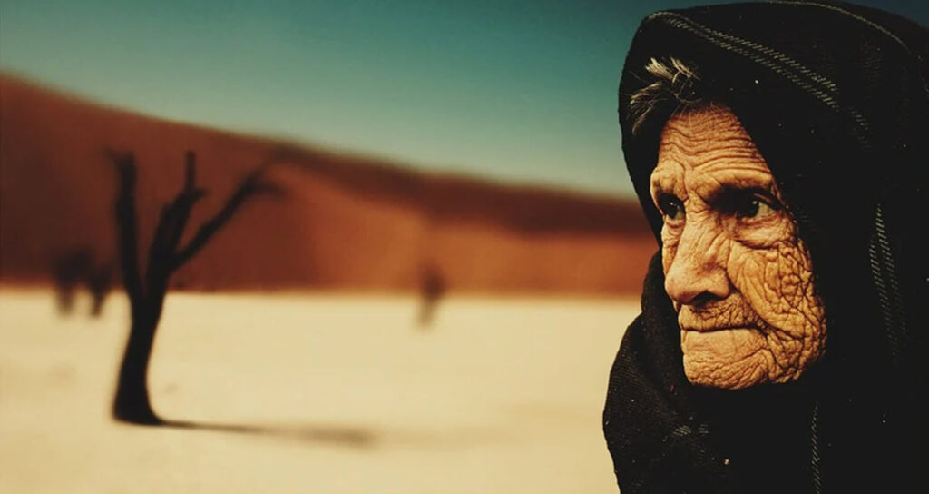 An Old Woman Is Astonished by a Letter She Received About ...
